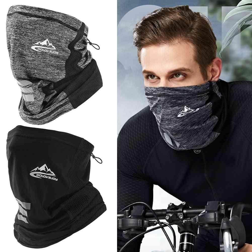 Protection Ice Silk Face Cover, Neck Tube Outdoor Bandana Scarf
