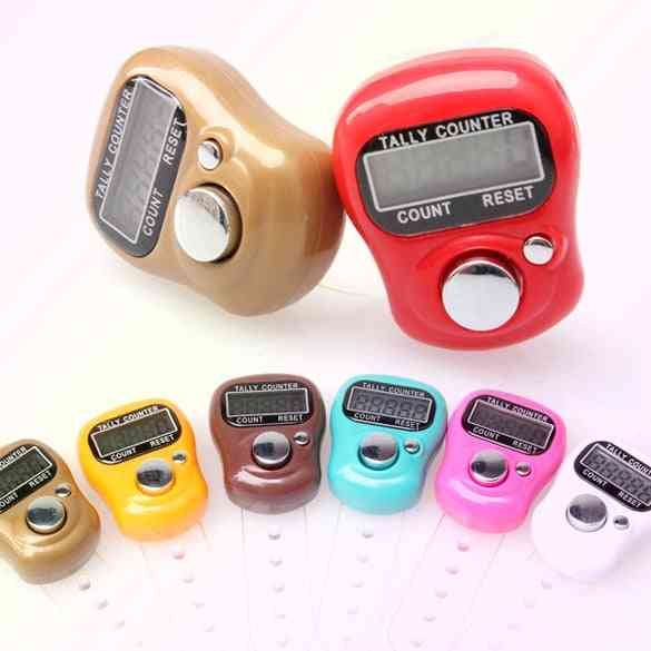New Electronic Digital Counter Portable Hand Operated Tally