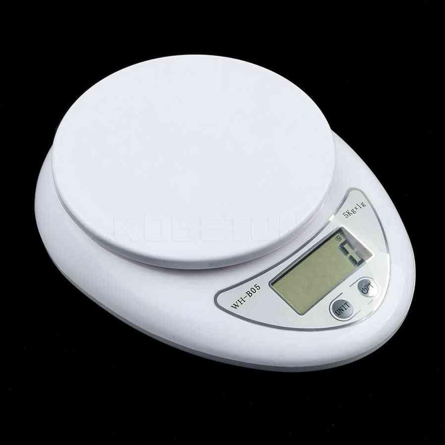 5000g/1g Digital Scale Kitchen Food Diet Postal Scale Weighting Tool