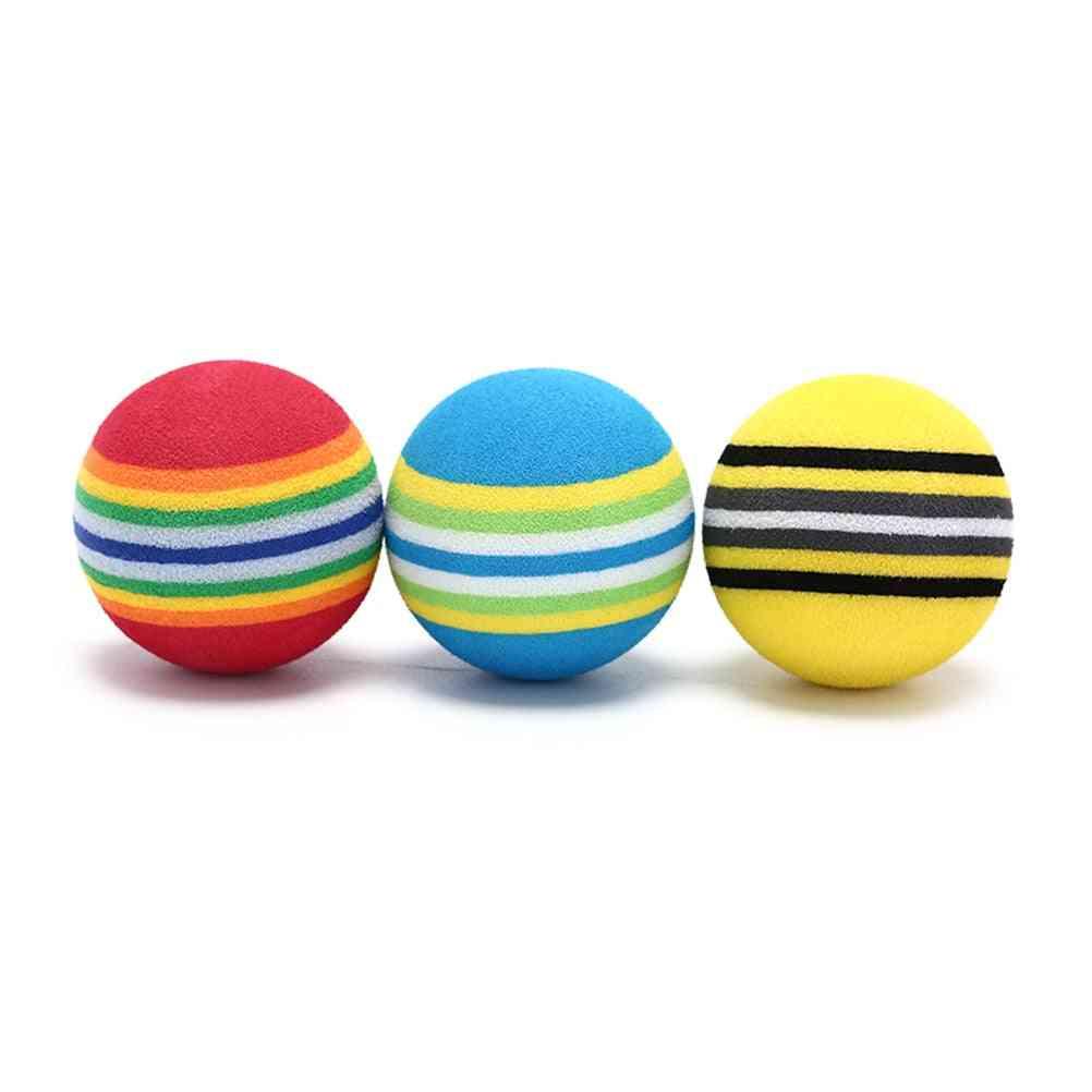 Golf Sponge Soft Rainbow Balls, Golf Swing Training Balls