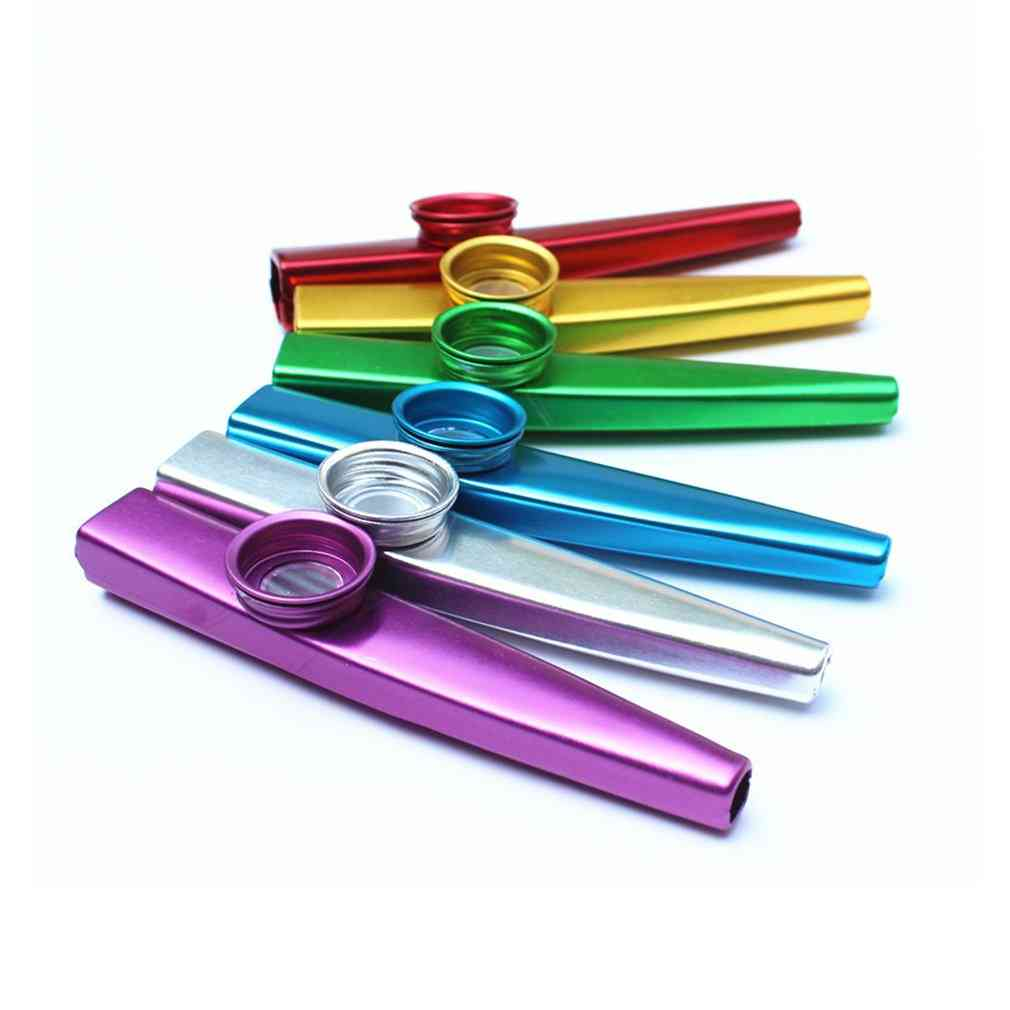 Metal Kazoo Lightweight For Beginner Flute Instrument Music