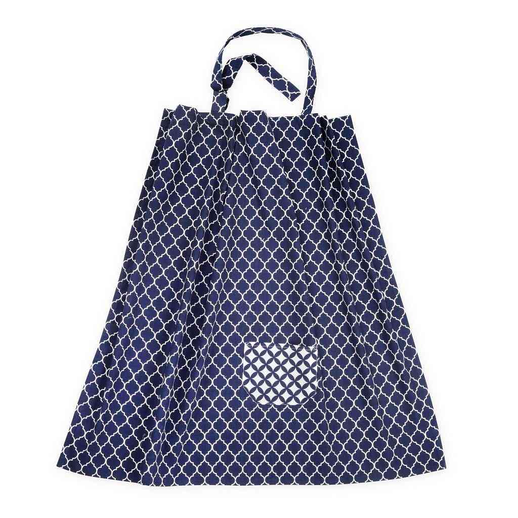 Dark Blue Breastfeeding Nursing Covers
