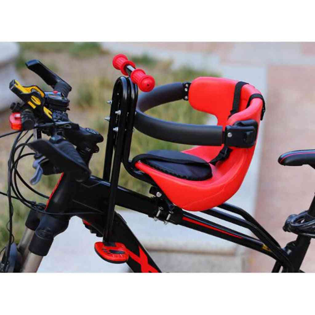 Front Mounted Baby Bike Seat, Kids,, Front Mount Bicycle Child Seats, Safety Carrier