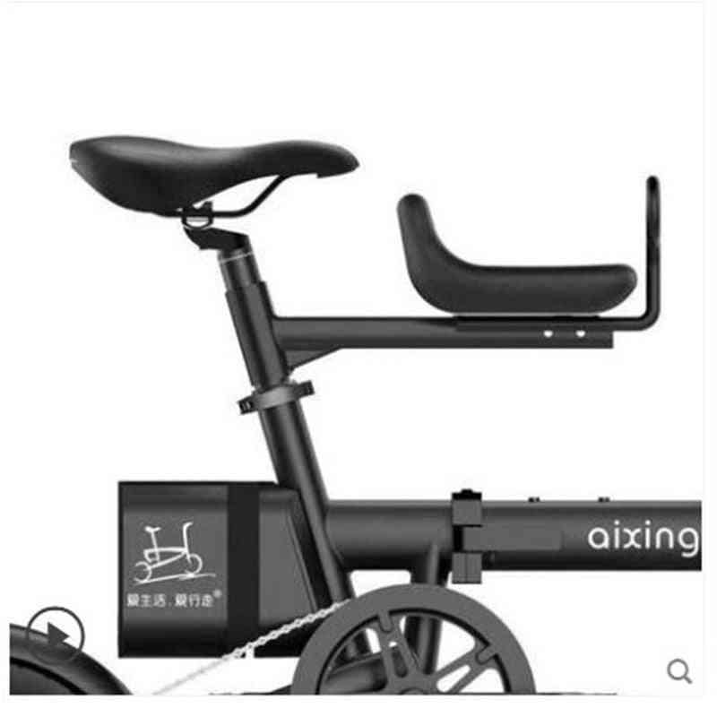 Child Seat Front Bicycle, Battery Car Removable, Baby Safety