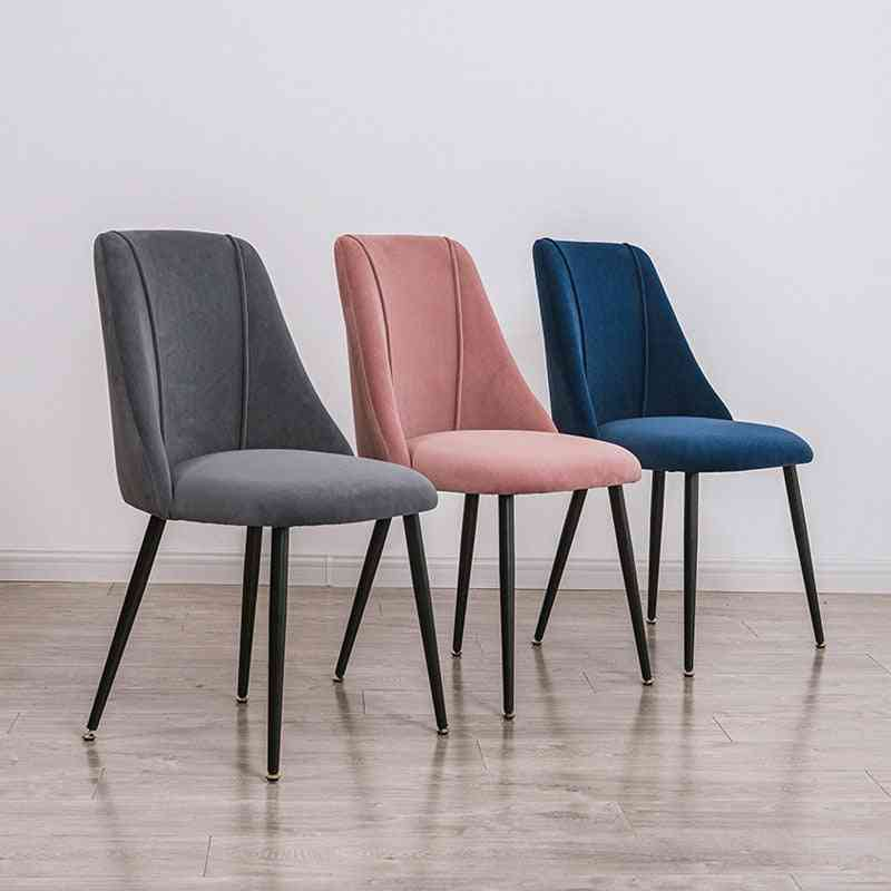 Dining Chair, Fabric Upholstered Accent Chair