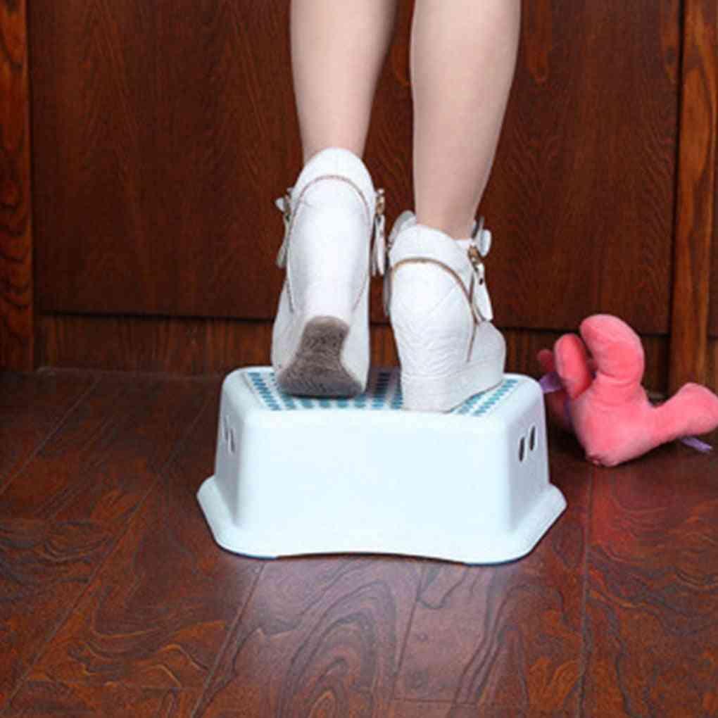 Toilet Squatty Step Stool, Plastic Anti-slip Chair
