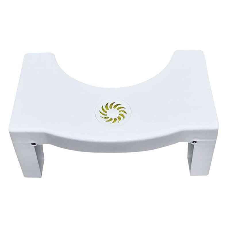 Foldable Bathroom Stool, Squat Anti Slip Toilet Footstool