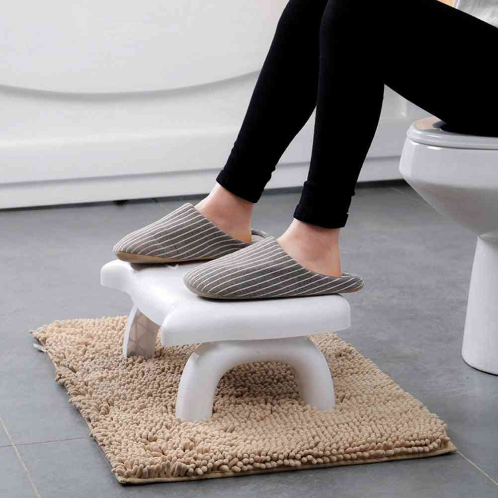 1pc Home Folding Squatting Stool, Thicken Folding Toilet Stool