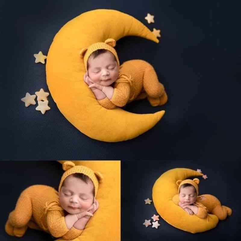 Baby Hat Posing Beans, Moon Pillow Stars Set