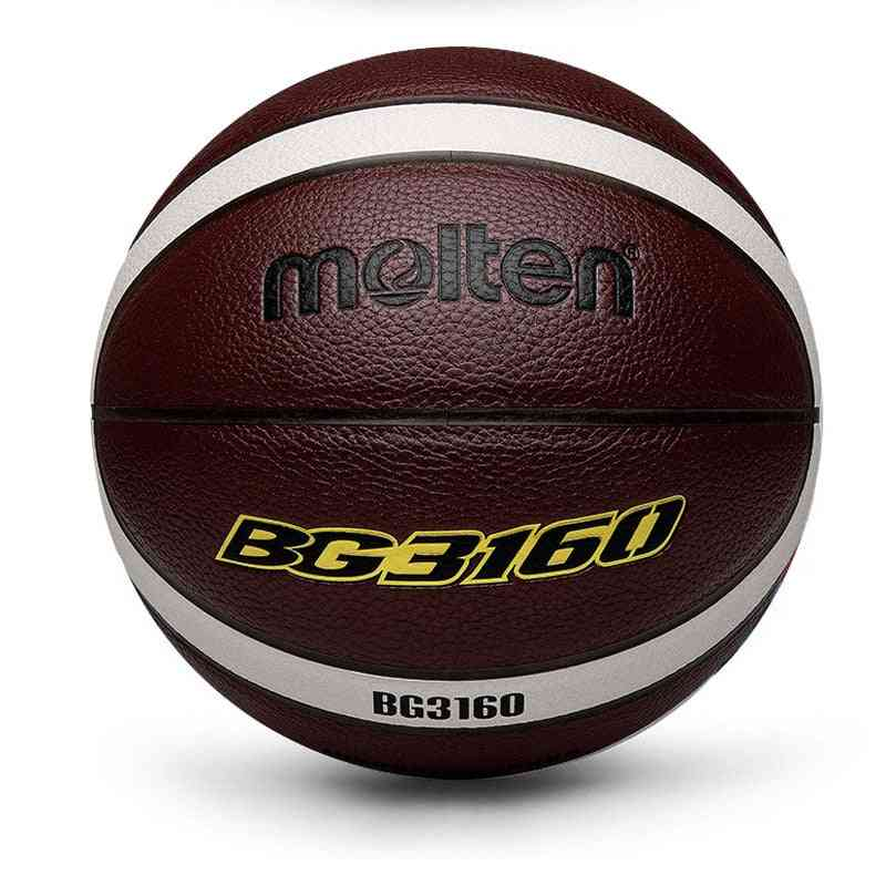 Official Size7/6/5 Pu Leather Basketball Ball