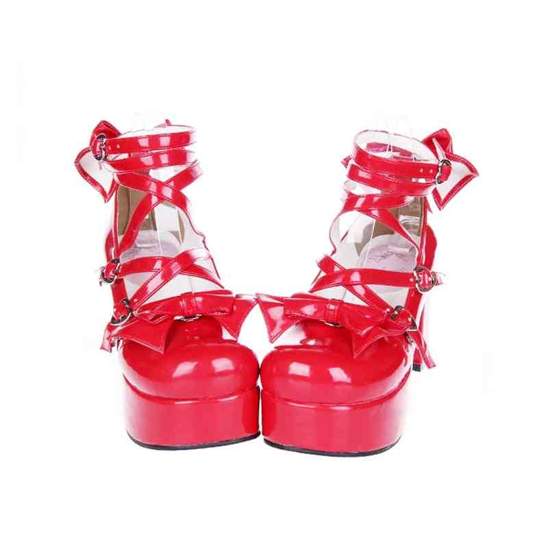 New Japanese Style Shoes, Anime Cosplay Shoes/boots