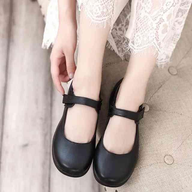 Cute Lolita Leather Shoes, Japan School Uniform Shoes