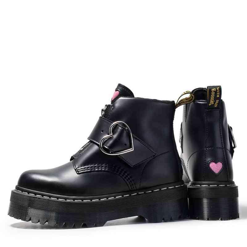 Fashion Zipper Flat Shoes, Woman High Heel Boots