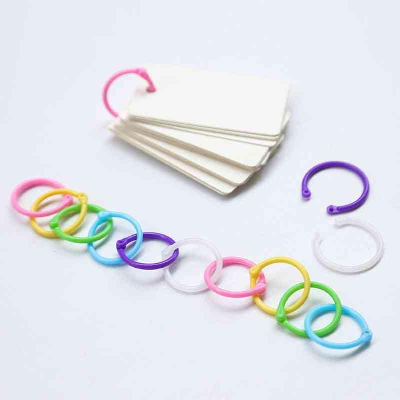 High Quality Binder Ring Creative Plastic Multifunction Circle  Book Binder