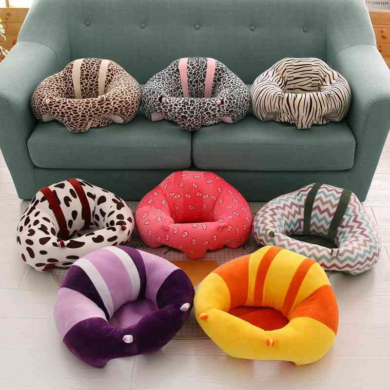 Infant Toddler Baby Kids Support Seat, Sit Up Soft Chair Cushion, Sofa Plush Pillow Toy, Bean Bag