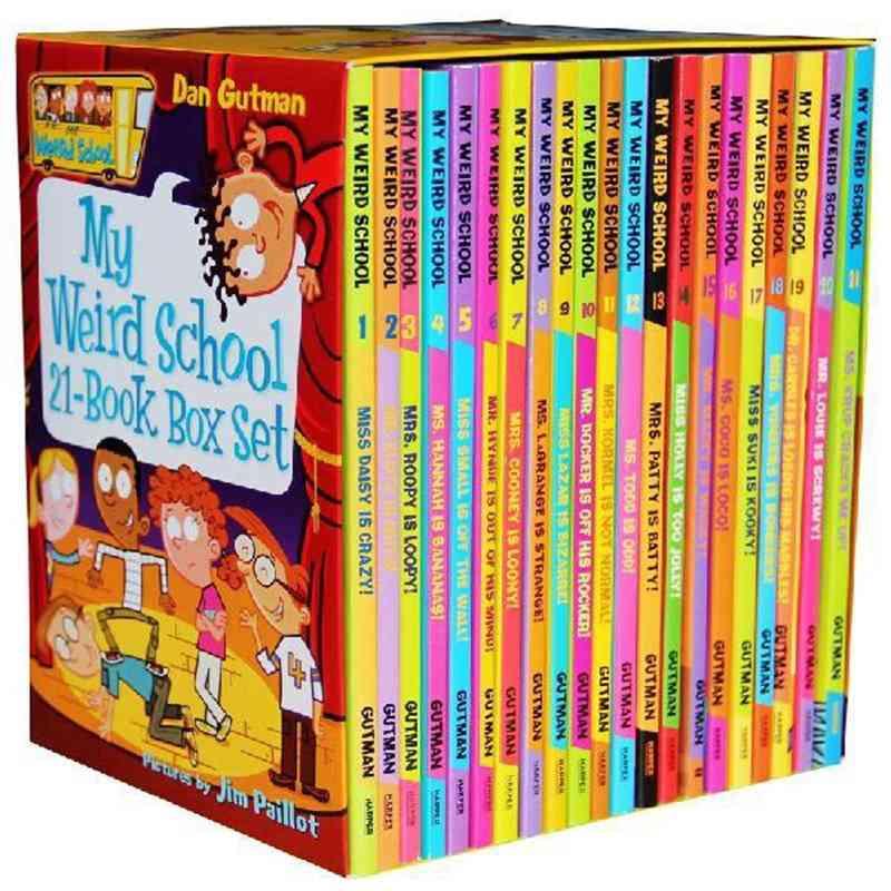 Children Baby English Campus Theme Classics Manga Book Set
