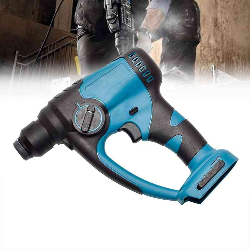 Rechargeable Brushless Cordless Rotary Drill Electric Hammer For Makita Battery
