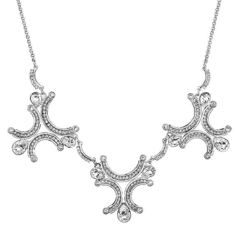 Crystal Necklace - Angel Wings