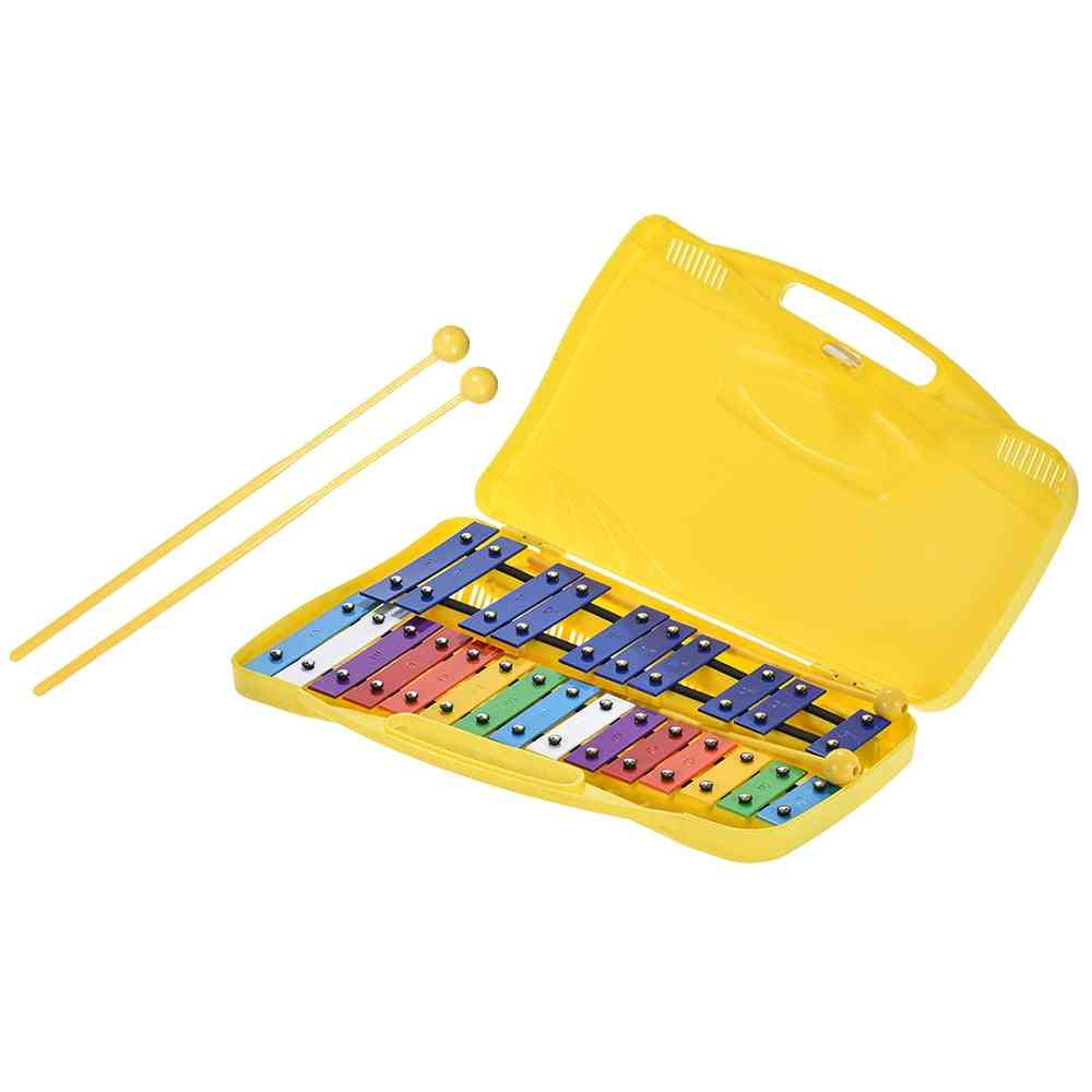 Colorful Notes Glockenspiel Xylophone Percussion Rhythm Musical Instrument Toy
