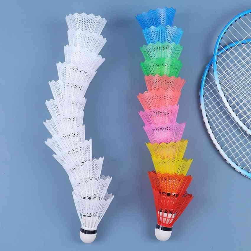 Colorful Badminton Balls Portable Badminton Sport Training Shuttlecocks