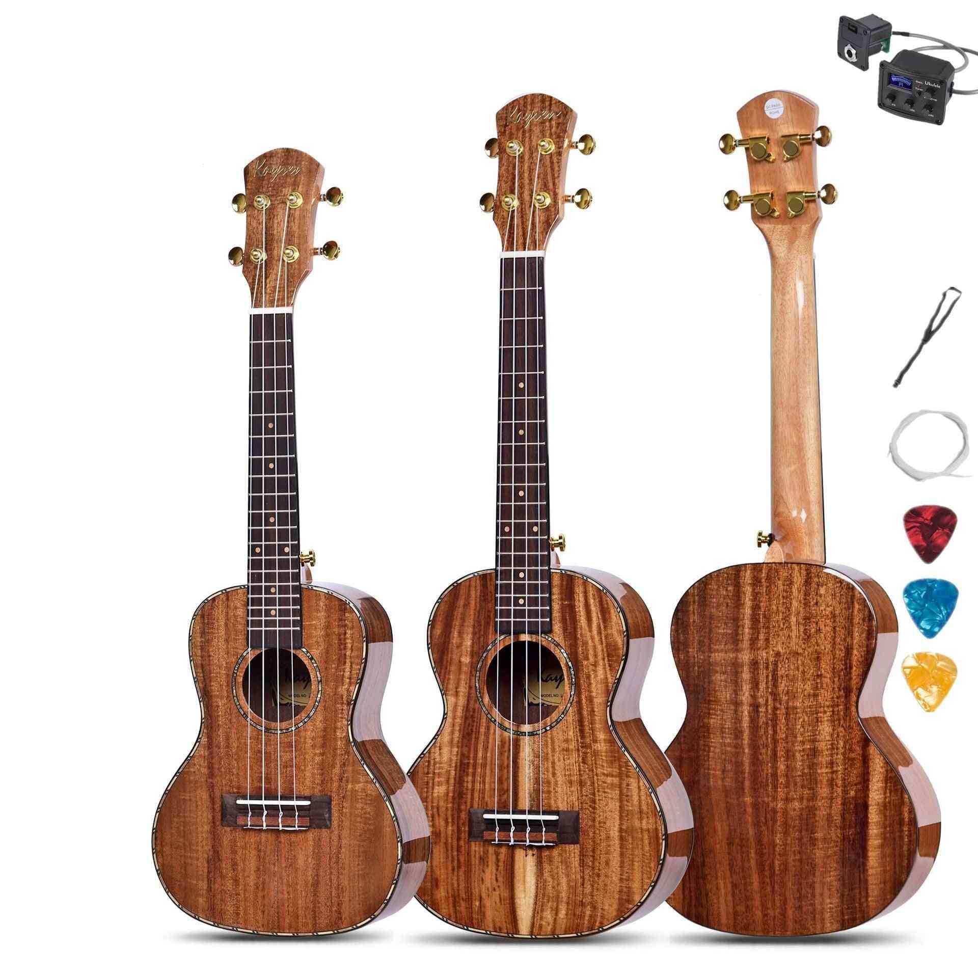 Electric Mini Acoustic Guitar
