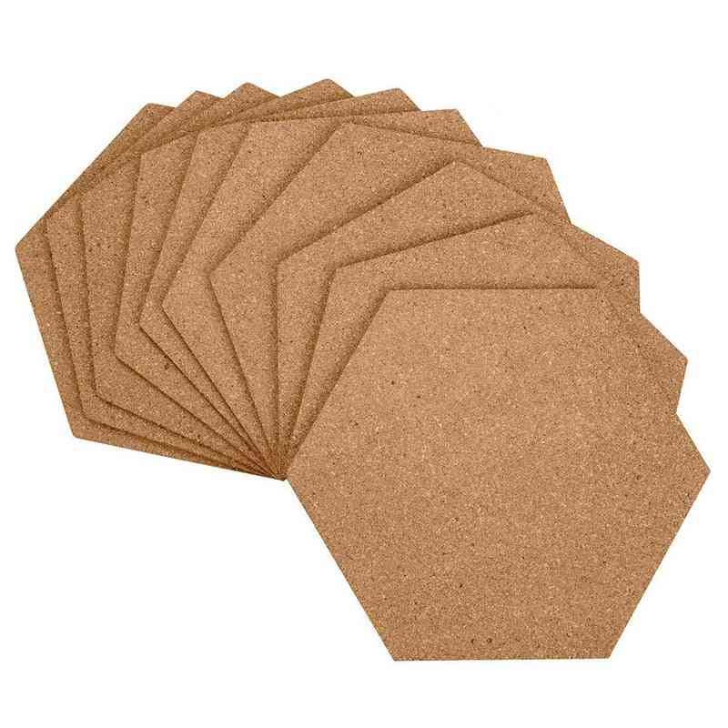 Cork Boards, Filled With Sticky Backboards, Mini Wall Bulletin Board, Pinboards-pictures, Photos, Notes, Goals, Paintings