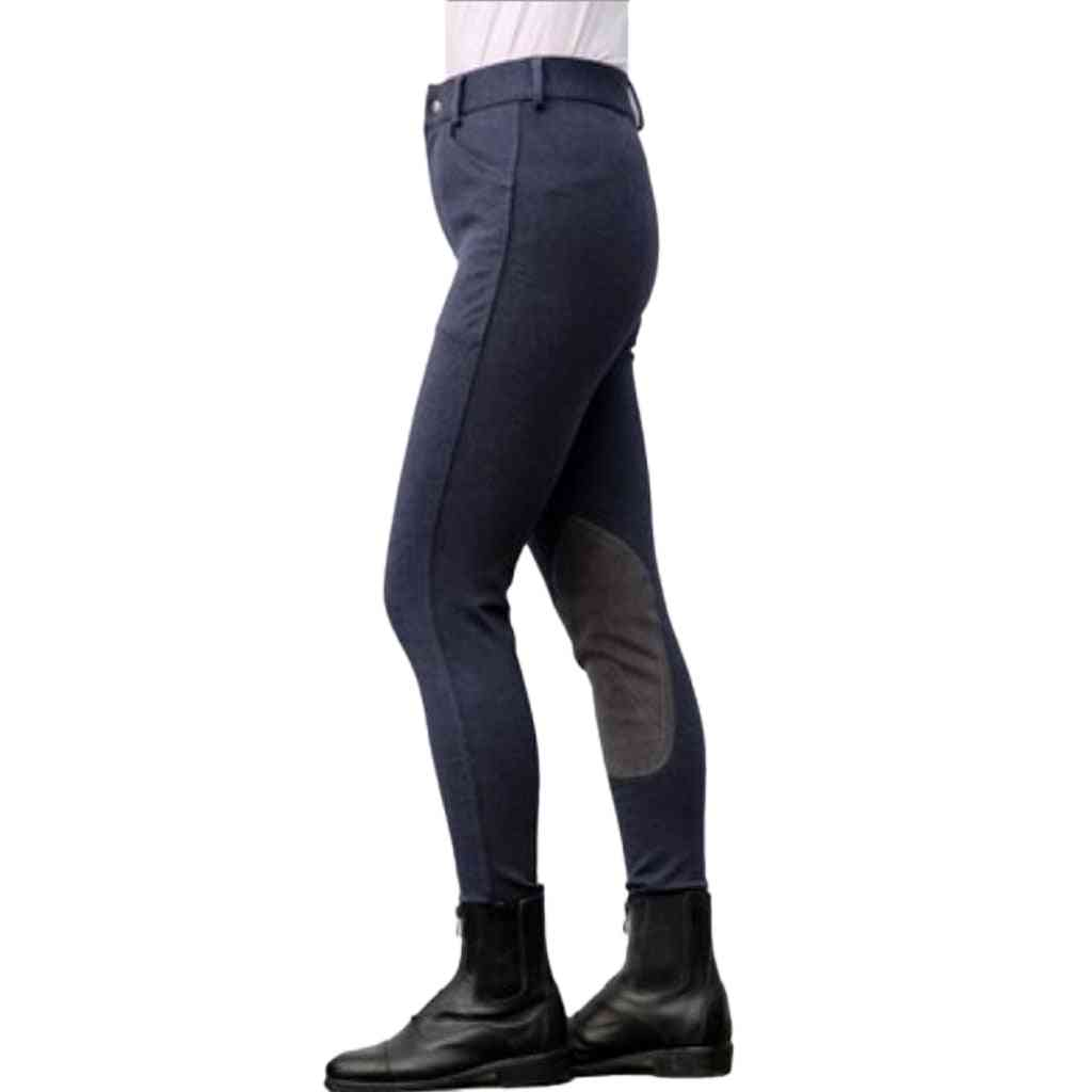 Pants Cotton Stretchy Breeches Horse Riding