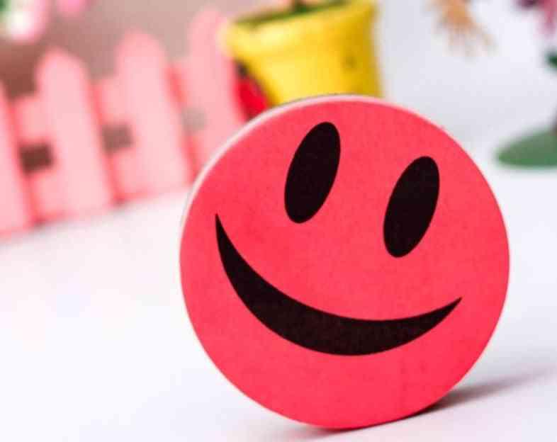 Smile Face Whiteboard Eraser / Wipe Dry Erase