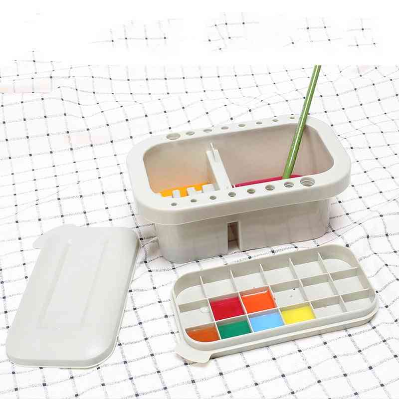 Multifunction Pen Barrel Painting Brush Washer For Drawing