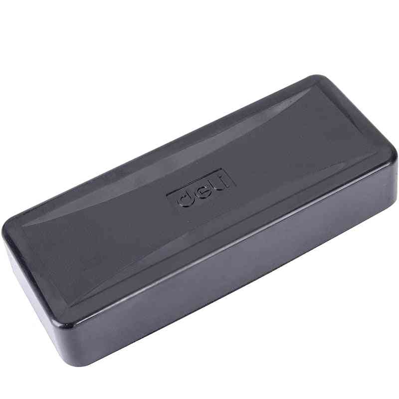 Magnetic Flannel Whiteboard Eraser, Plastic Marker Cleaner, Detergent Glass Special