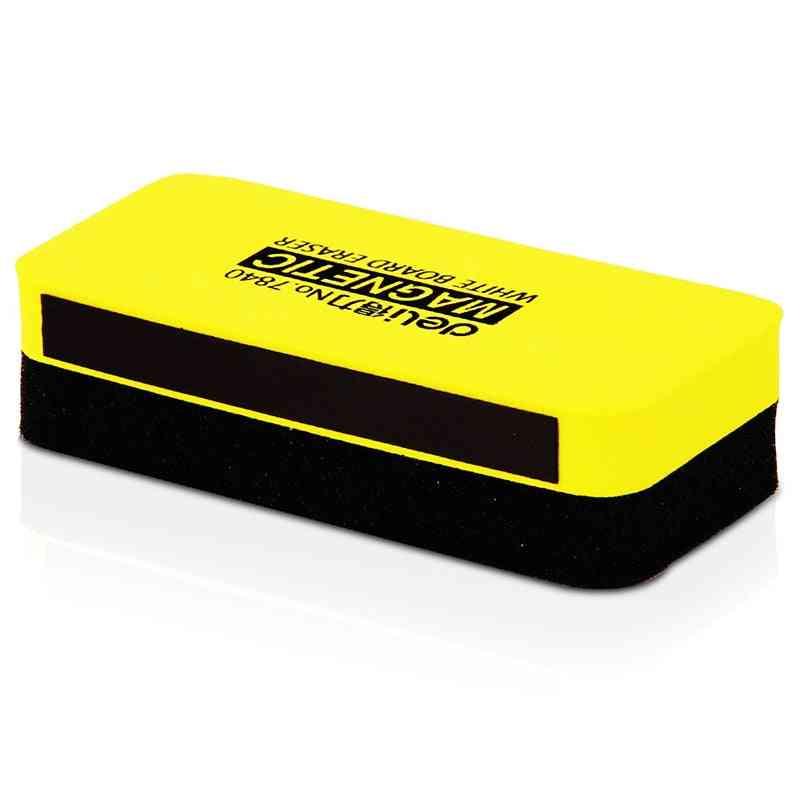 Magnetic Sponge, White Board Eraser, Kawaii Markers Chalk Erasers For Felt, Whiteboard Erasable, Blackboard Cleaner