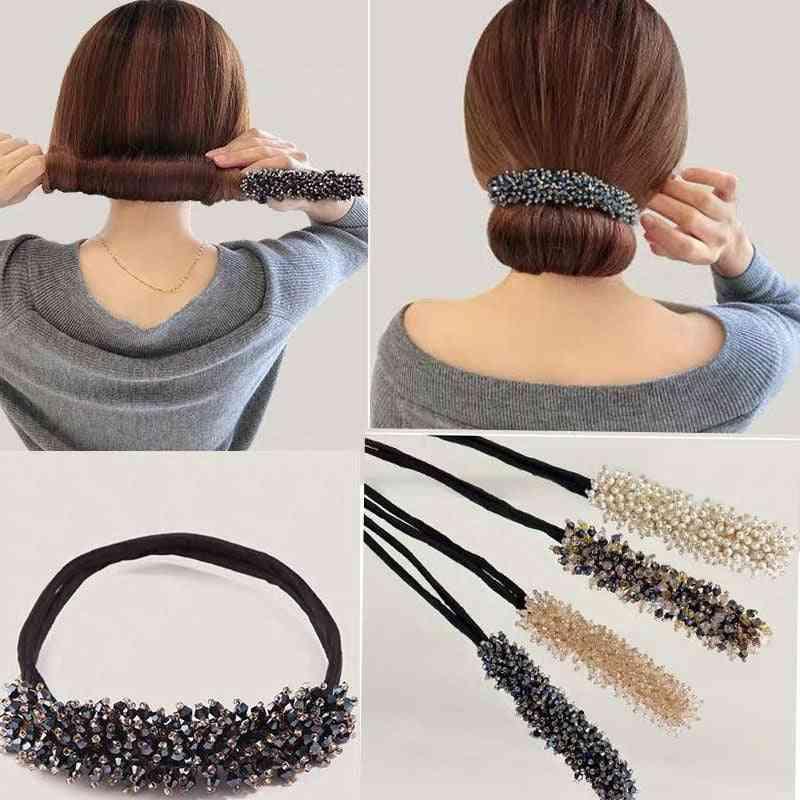 Flower Bud Tied, Half Ball Head, Artifact Wedding Bridal Rhinestone  Hair Pins, Clips, Women Accessory