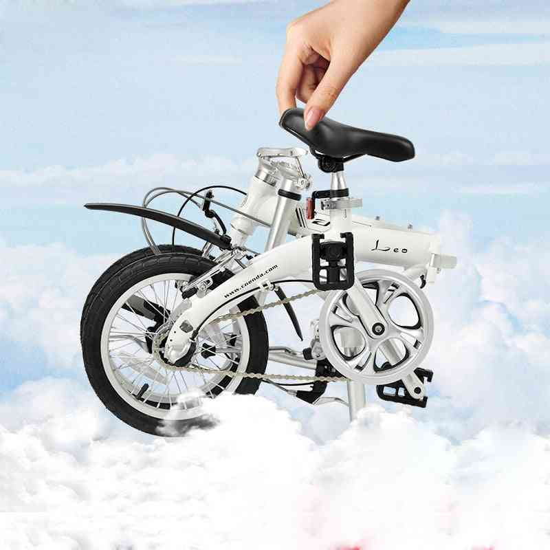 14 Inch Folding Bicycle  Ultra-light Adult Portable To Work