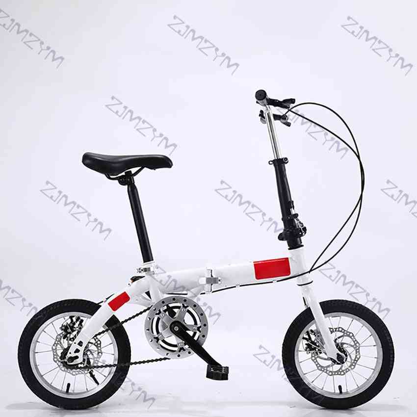 14 Inch Foldable Ultra-light Bicycle Single/variable Speed