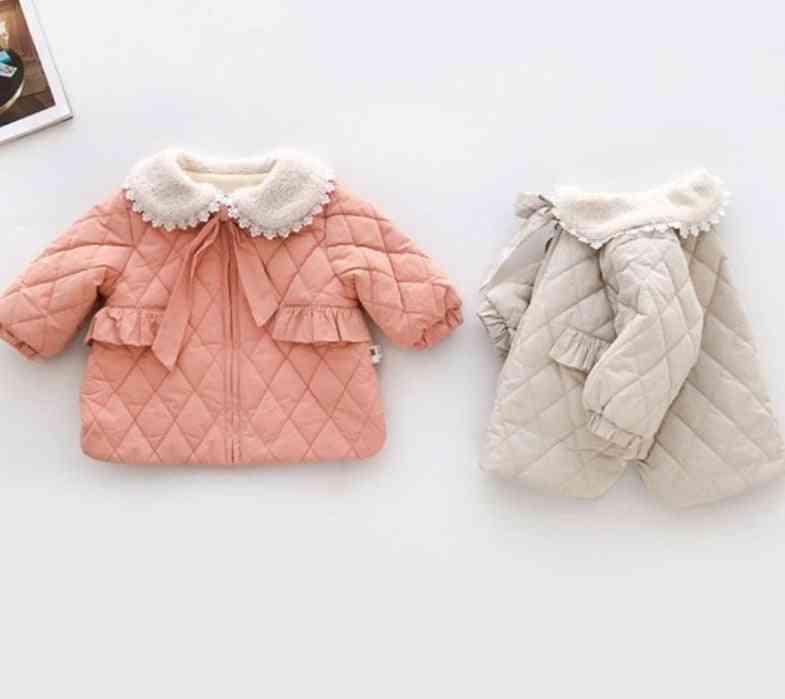 Baby Girl Princess Coat, Winter Newborn Jacket