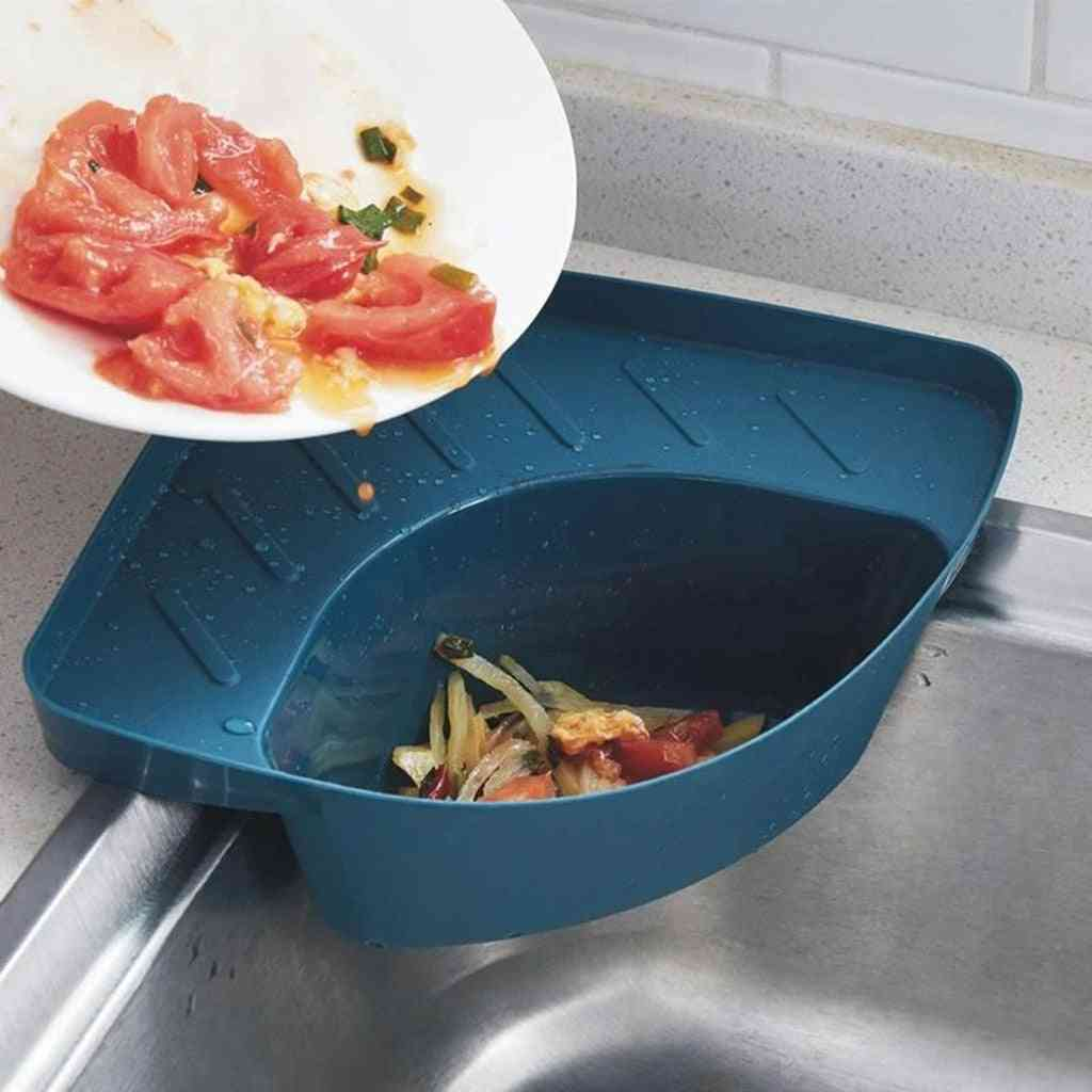 Household Kitchen Drains Food Residue Filter Rack