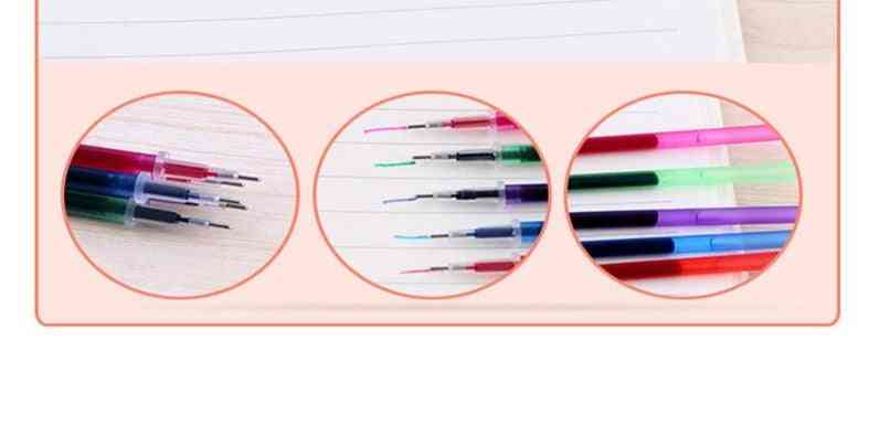 Multi Color Water Soluble Cartridge Washable Embroidery Gel Pen Refill
