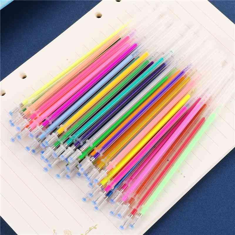 Multicolor Ballpoint Gel Pen Highlighter Refill