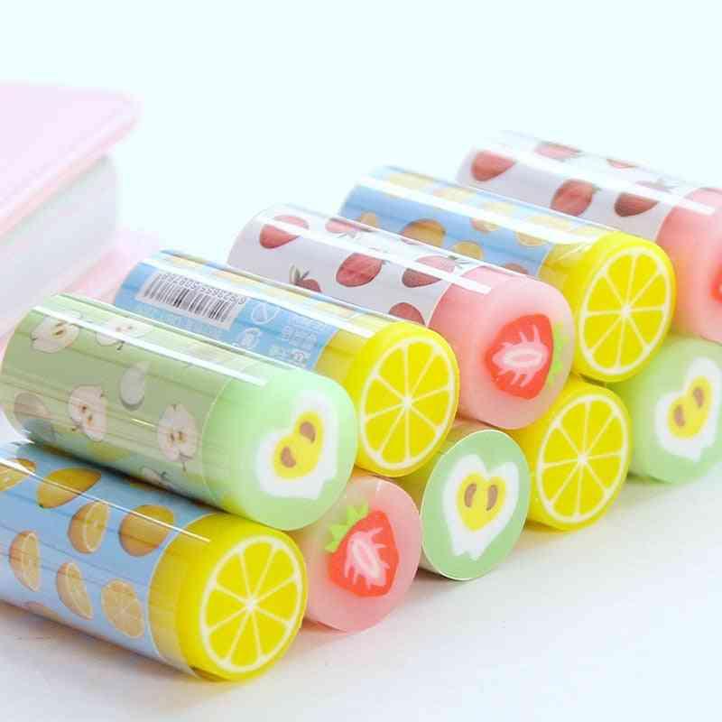 Creative Fruit Erasers