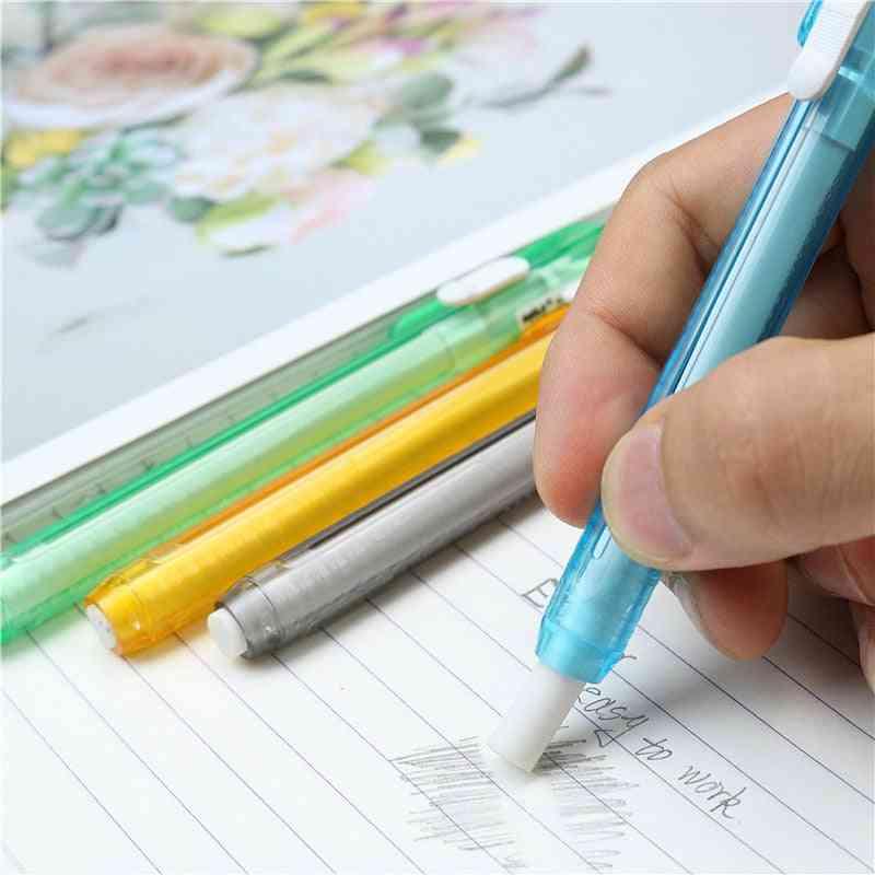 Pen Type Retractable Erasers