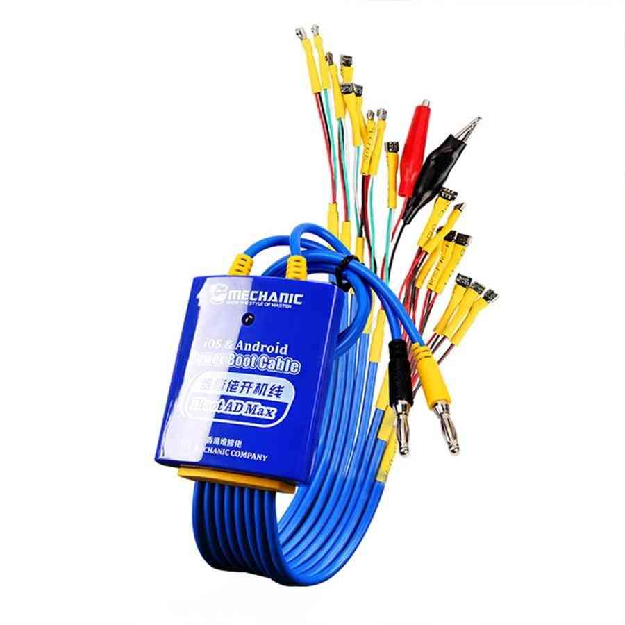 Ad Max, Power Boot, Control Line, Test Power Supply Cable