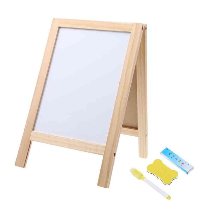 Mini Wooden Blackboard With Eraser