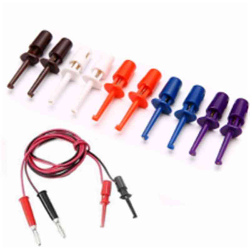 Multimeter Wire Lead Test Hook Clip