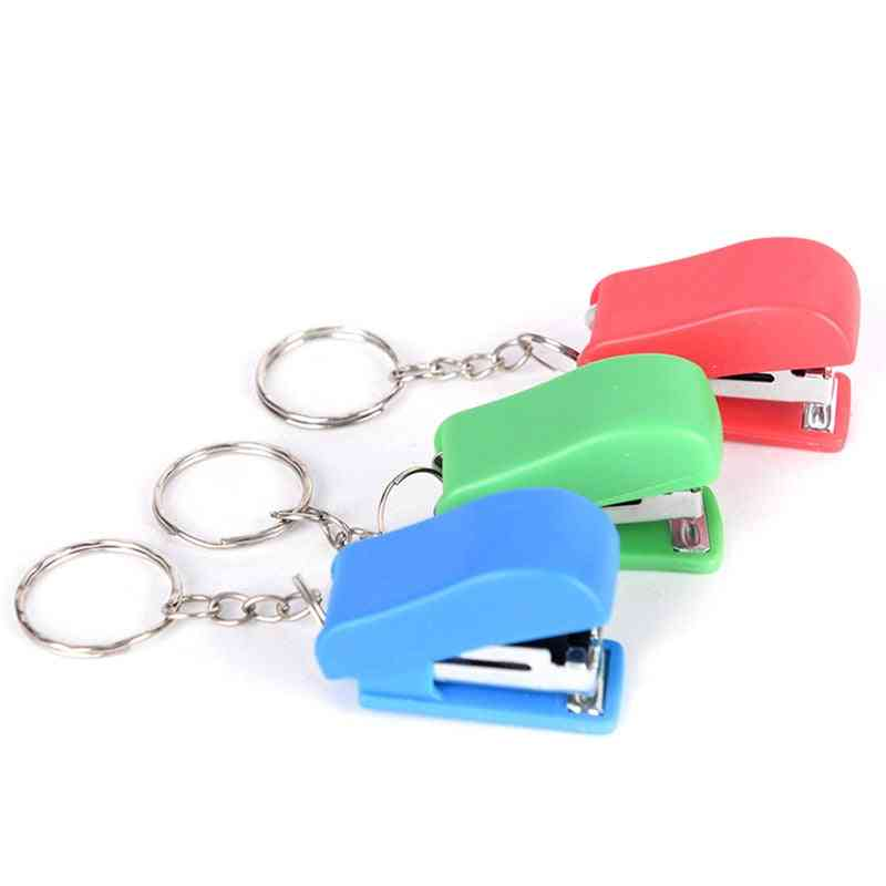 Stapler Solid Office Stationery Cute Mini Without Stapler