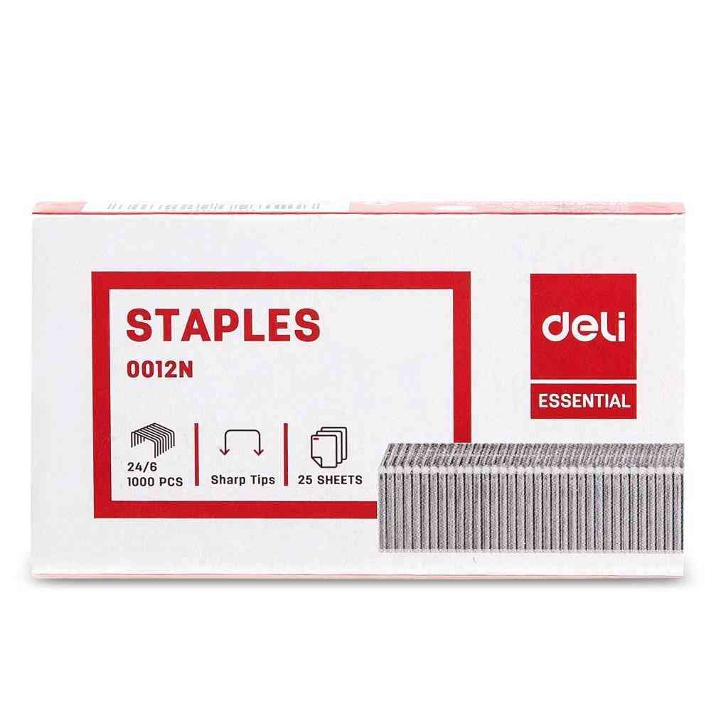 24/6 4box/lot Zinc Plated Wire Iron Material E 0012n Staples