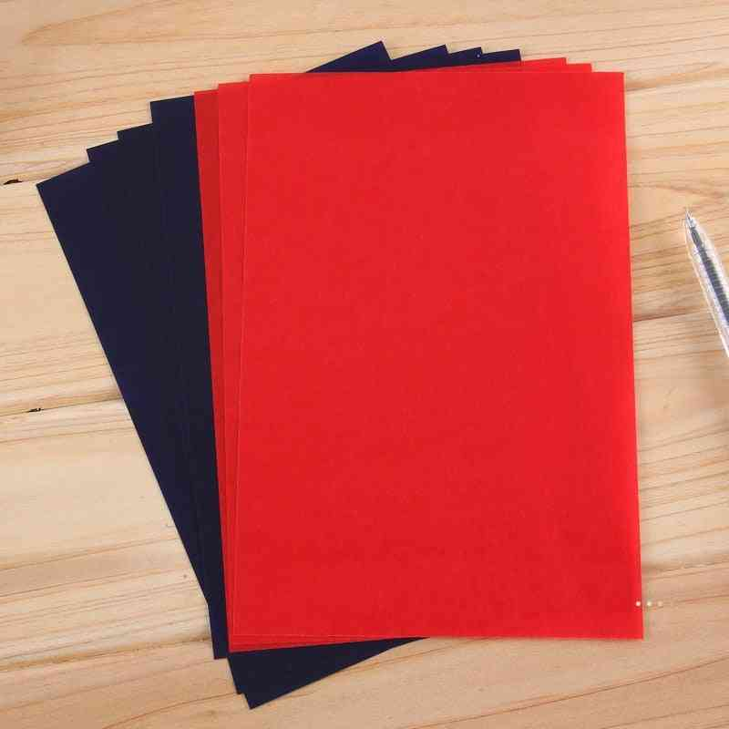Double-sided Carbon Paper Thin Type Accounting Bill File Copy Tool