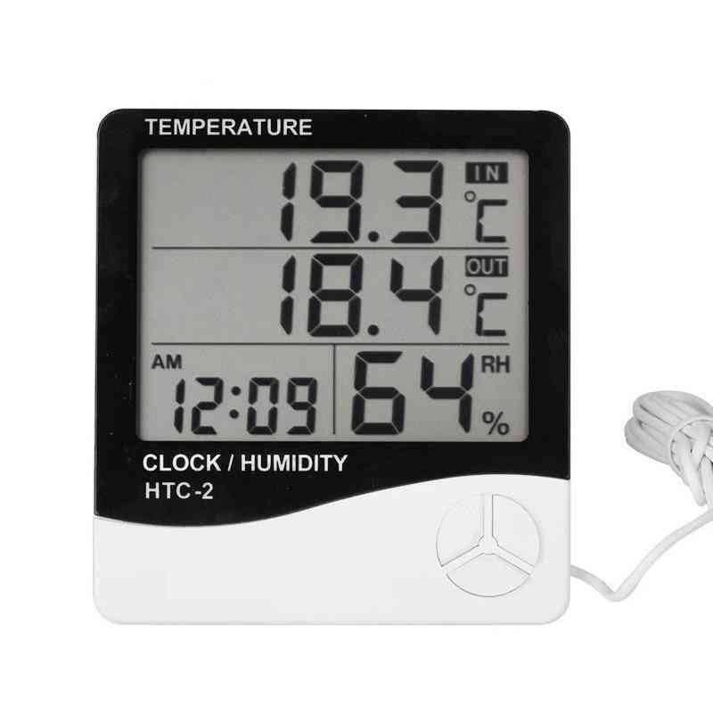 Digital Thermometer Hygrometer Weather Station Temperature Humidity Tester