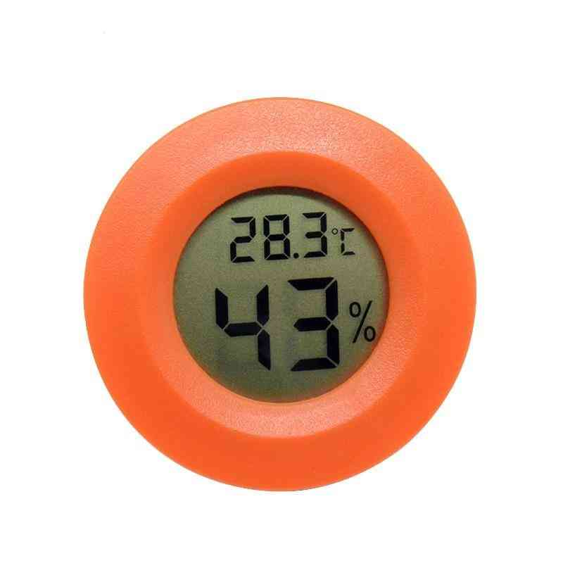 Mini Digital Lcd Thermometer Hygrometer Gauge