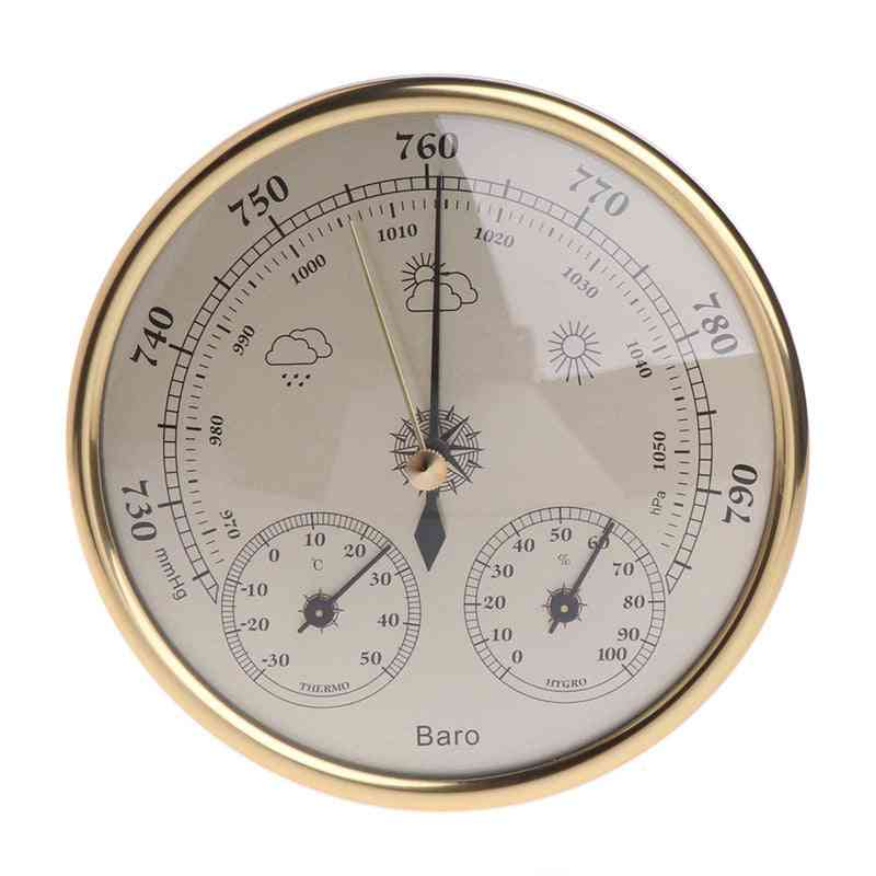 Wall Mounted Household Barometer Thermometer Hygrometer