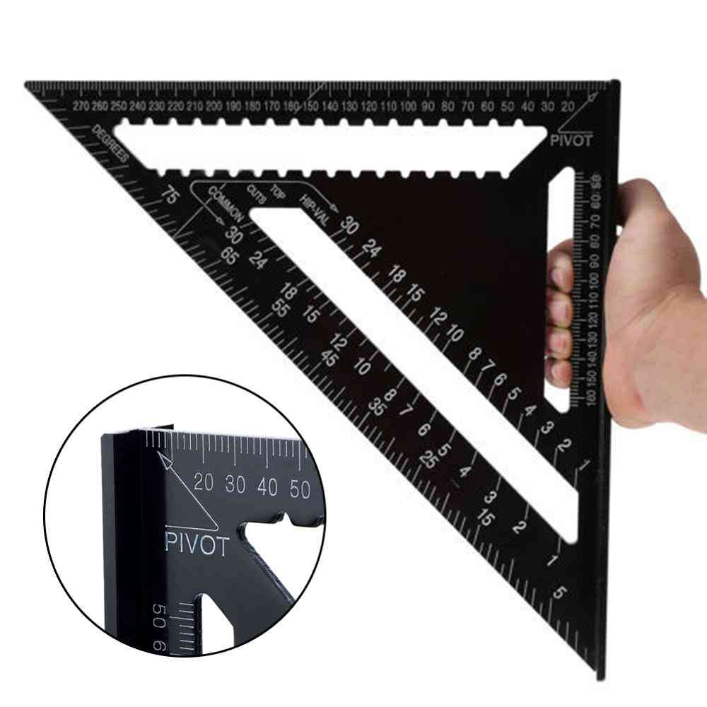 Square Angle Protractor Rulers Measuring Tools